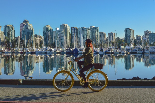Vancouver Cyclist