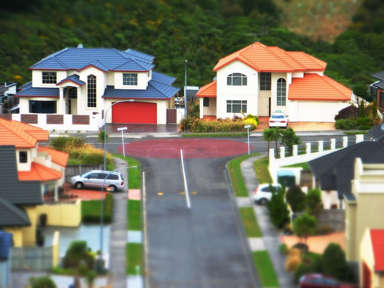 A suburban development