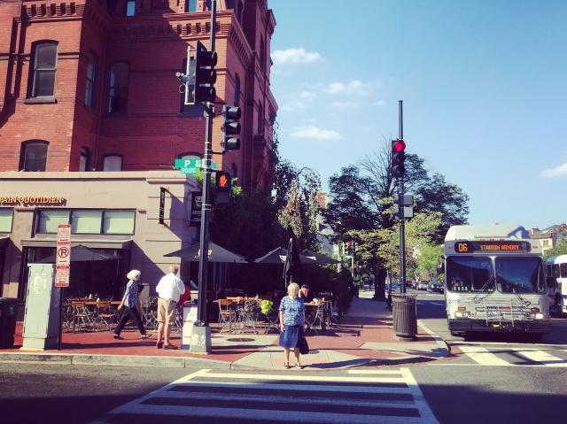 Transit-accessible Dupont Circle